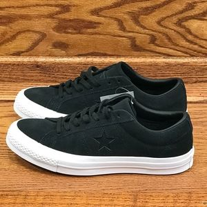 Converse One Star Ox Black White Shoes